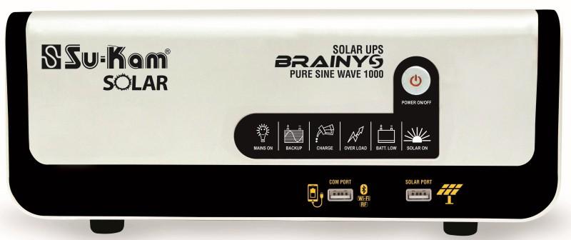 Su-Kam Brainy S 1000 Va-12V Solar Pure Sine Wave Inverter