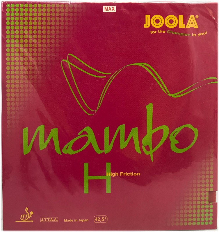 Joola 5003 Mambo H Max Table Tennis Rubber(Red)