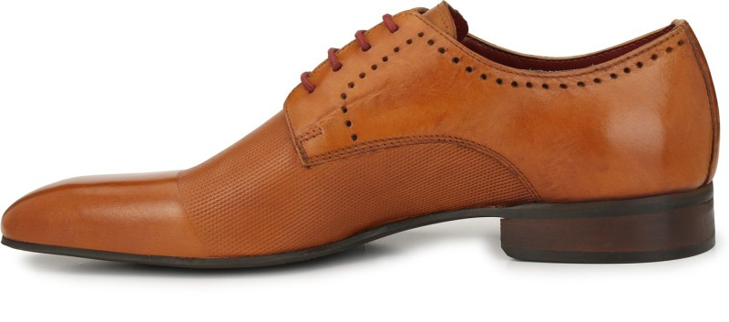 Alberto Torresi Lace Up For Men(Tan)