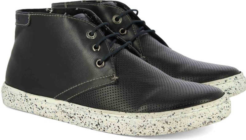 Alberto Torresi Boots For Men(Black, Navy)