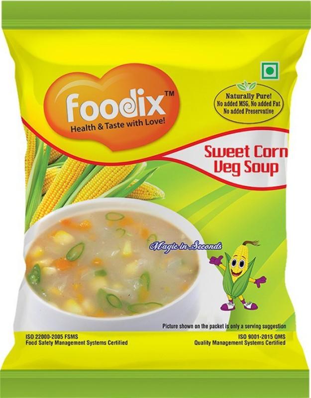 Foodix Sweet Corn Soup Mix -48g (Pack of 2)(96 g)