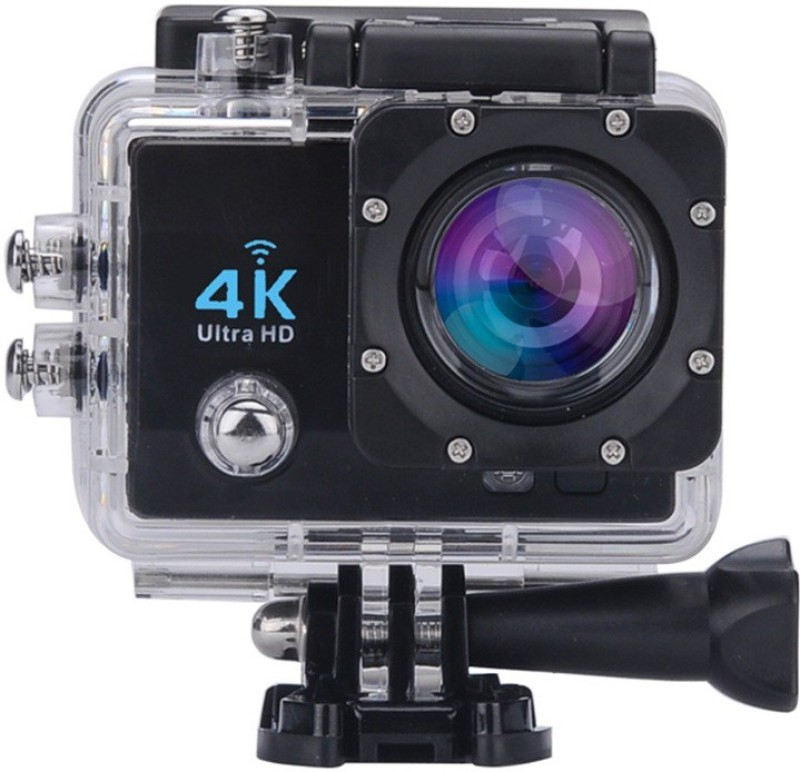 Lambent wifi Camera 4K Wi-Fi Waterproof Action Camera Sports and Action Camera(Multicolor 16 MP)