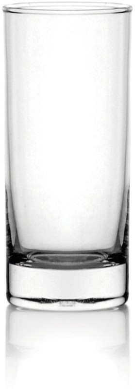 Ocean San Marino Hi Ball Glass Set(290 ML, Clear, Pack of 6)