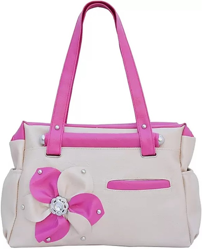 3NG Women Pink, Beige Hand-held Bag