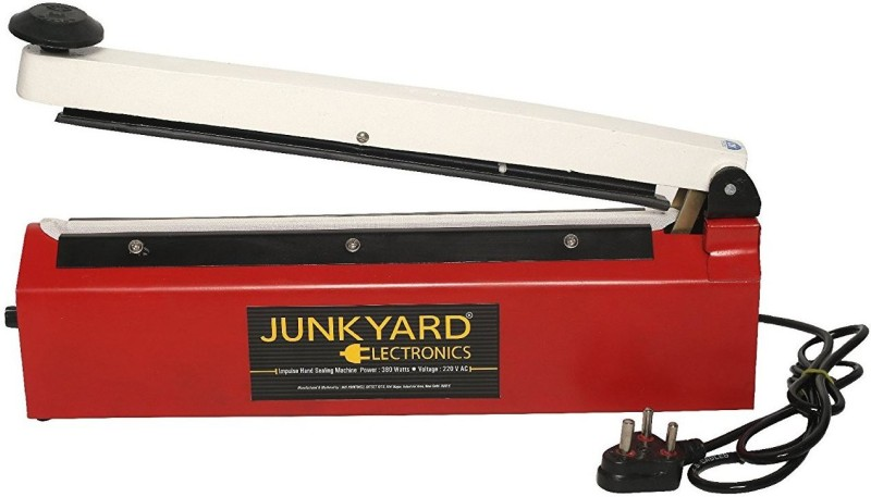 Junkyard 12 inch Hand Sealing Machine (impulse sealer) for packing plastic & aluminium pouch and bags Table Top Heat Sealer(300 mm)