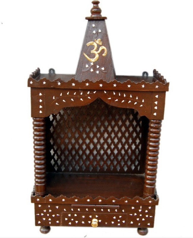 Mayur enterprises Solid Wood Home Temple(Height: 70 cm)