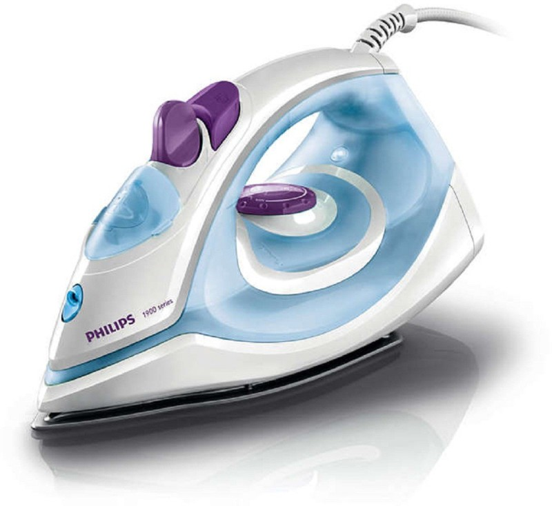 Philips Steam Iron GC1905/21 |1440 W With Indicator Light iron Steam Iron(White, Blue)