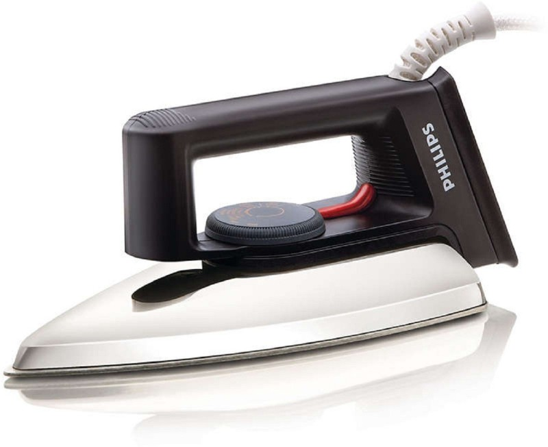 Philips Dry Iron HD1134 |750 W With Indicator Light iron Dry Iron(Metal, Black)