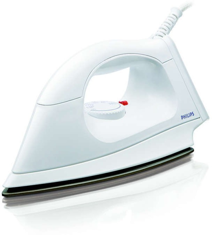 Philips Dry Iron HI114/28 |1000 W With Indicator Light iron Dry Iron(White)