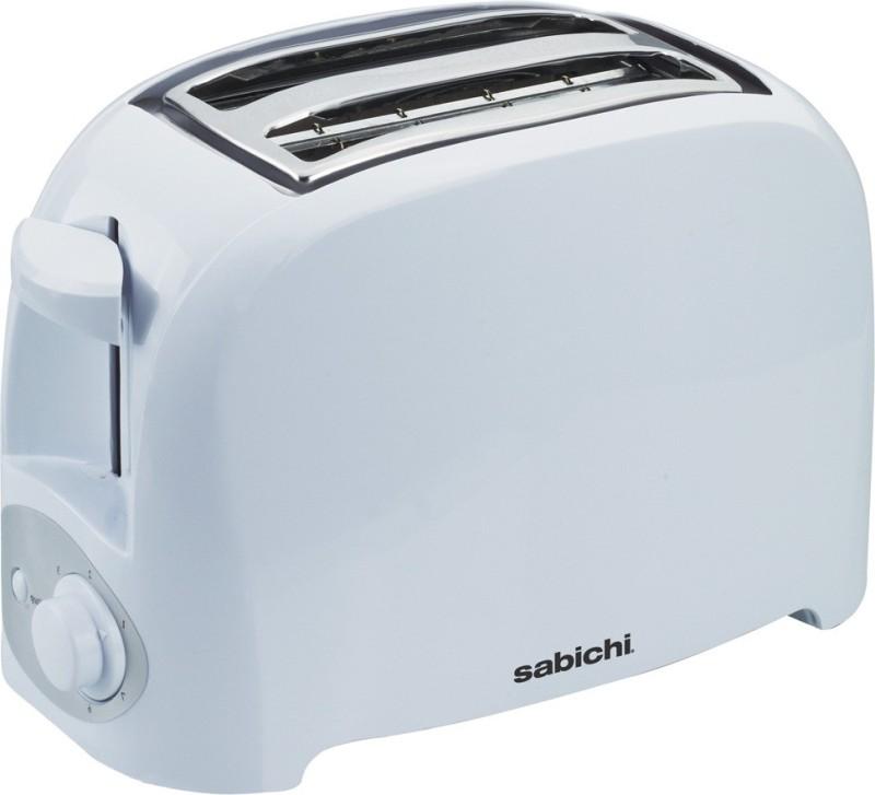Sabichi 143822 750 W Pop Up Toaster(White)