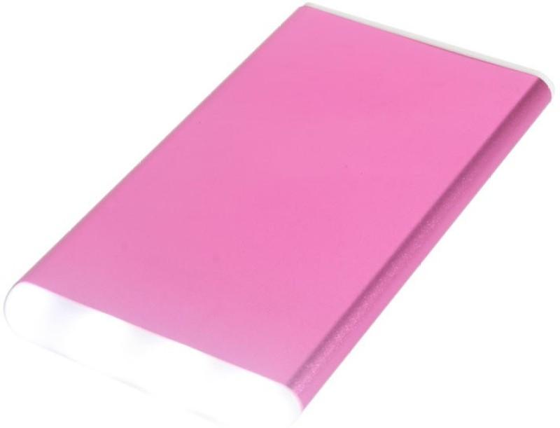 Callmate 4000 Power Bank (Power Bank, Metal)(Pink, Lithium Polymer)