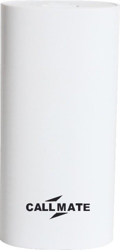 Callmate 5200 Power Bank (world, wind white)(White, Lithium-ion)