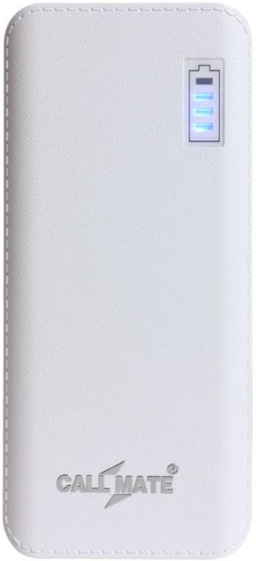 Callmate 11000 Power Bank (R5, Dual USB)(White, Lithium-ion)