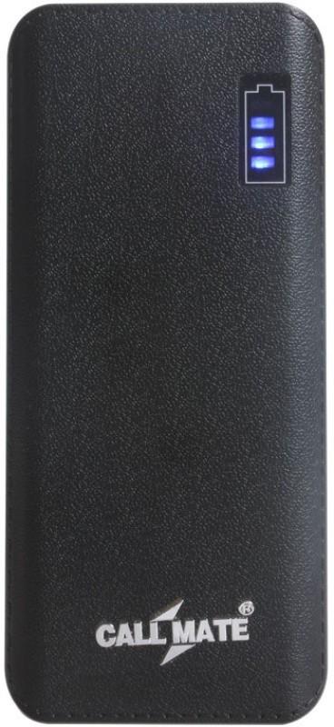 Callmate 11000 Power Bank (R5, Dual USB Black)(Black, Lithium-ion)