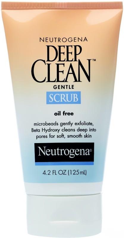 Neutrogena Deep Clean Scrub(124 ml)