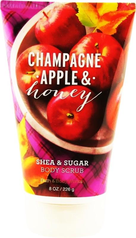 Bath & Body Works Champagne Apple & Honey Scrub(226 g)