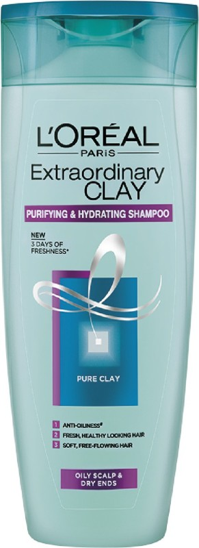 LOreal Extraordinary Clay Shampoo(175 ml)