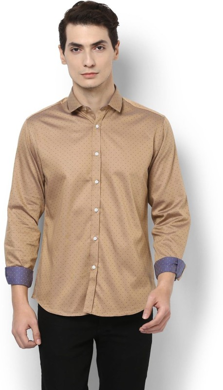 Van Heusen Men Self Design Casual Shirt