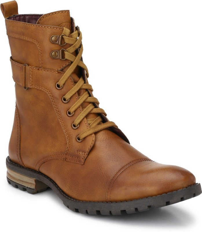 Delize Boots For Men(Tan)