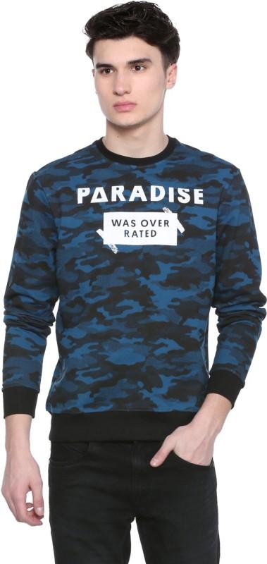 People Full Sleeve Printed Men Sweatshirt