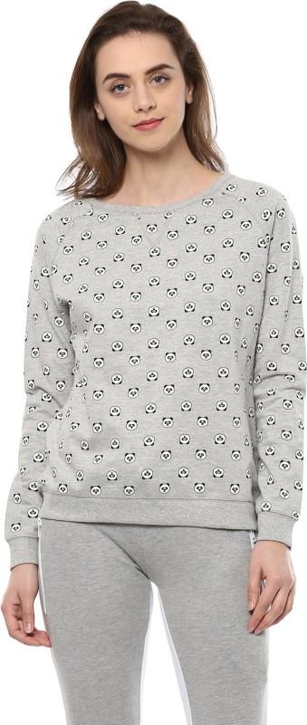 People Full Sleeve Printed Women Sweatshirt