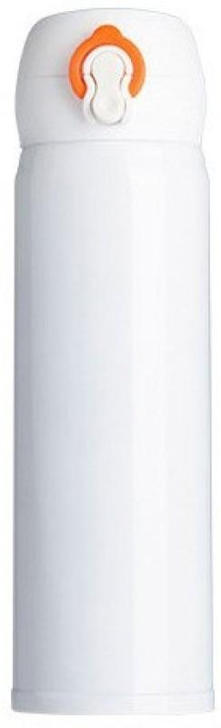 Aadhira Enterprises AE 500ml stainless steel vacuum flasks water bottle stainless steel Lock thermal insulation kettle 500 ml Bottle(Pack of 1, Black)