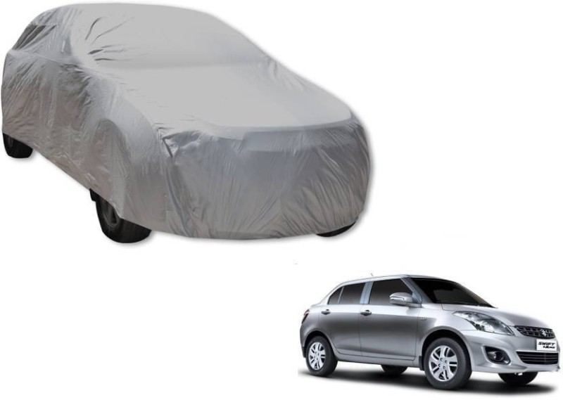 A K Traders Car Cover For Maruti Suzuki Swift Dzire (Without Mirror Pockets)(Grey)