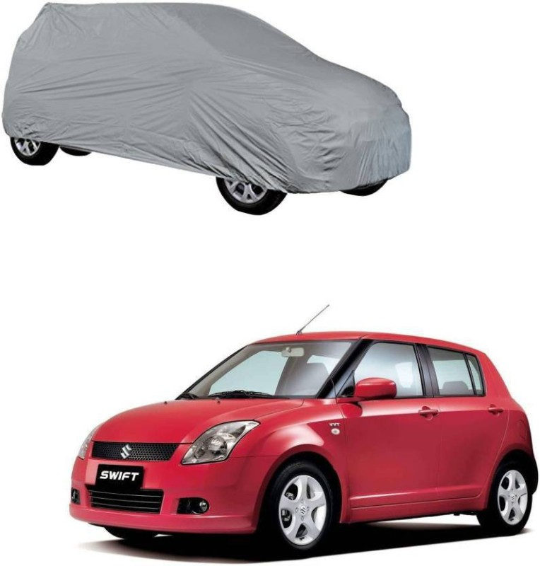 A K Traders Car Cover For Maruti Suzuki Swift (Without Mirror Pockets)(Grey)