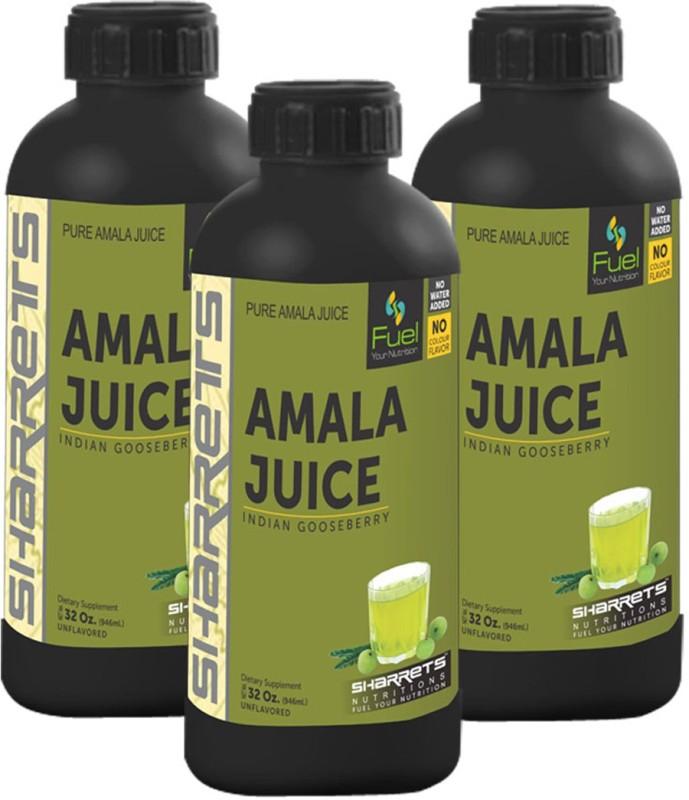 Sharrets Nutritions Amala Juice 2838 ml(Pack of 3)