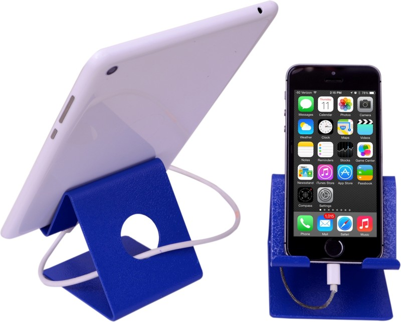 Hodka Marketing Mobile Stand (For All Smart Phones And Tablets) Blue Mobile Holder