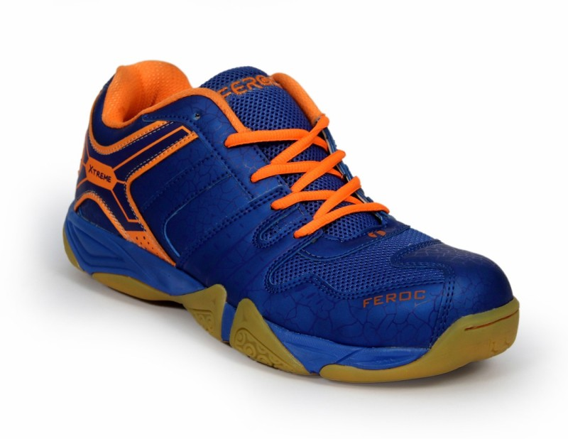 Feroc NOVAB Badminton Shoes For Men(Blue)