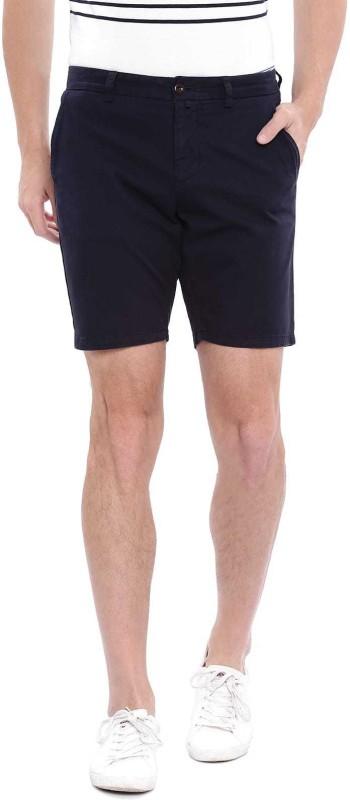 Gant Solid Men Blue Regular Shorts