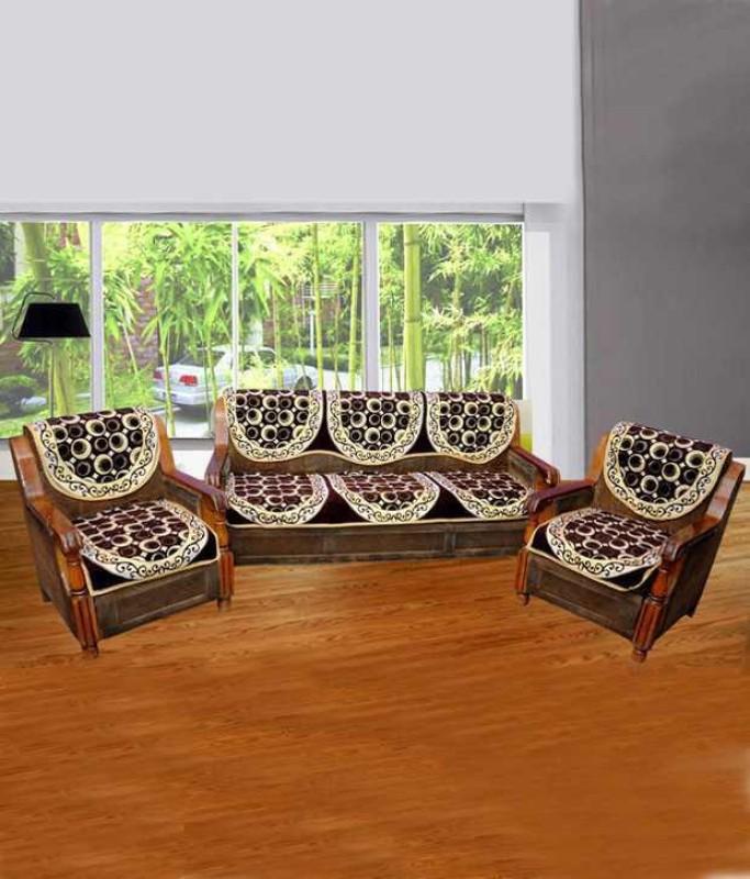 Shivkirpa KSC005 Sofa Fabric(Multicolor 27 m)