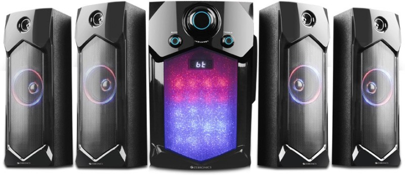 Zebronics INDIE 105 W Bluetooth Home Theatre(Black, 4.1 Channel)
