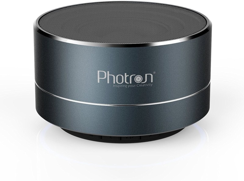 Photron P10 Wireless Super Bass Mini Metal Aluminium Alloy Portable With Mic 3 W Bluetooth Speaker(Deep Cobalt, Stereo Channel)