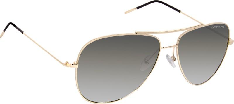 David Blake Aviator Sunglasses(Violet)