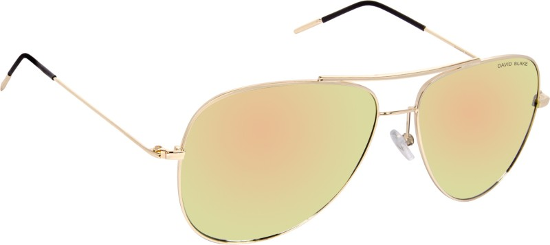David Blake Aviator Sunglasses(Green)