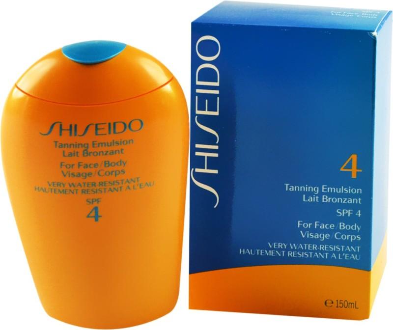 Shiseido Tanning Emulsion - SPF 4(50 ml)