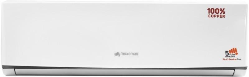 Micromax 1 Ton 3 Star Split AC - White(ACS12C3C4QS3WH, Copper Condenser)