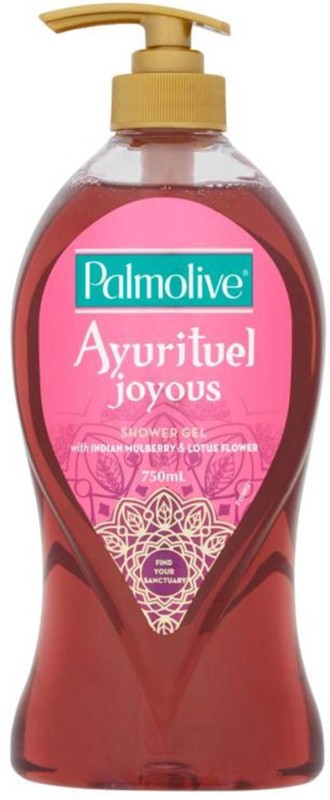 Palmolive Ayurituel Joyous Shower Gel, with Indian Mulberry & Lotus Flower(750 ml)
