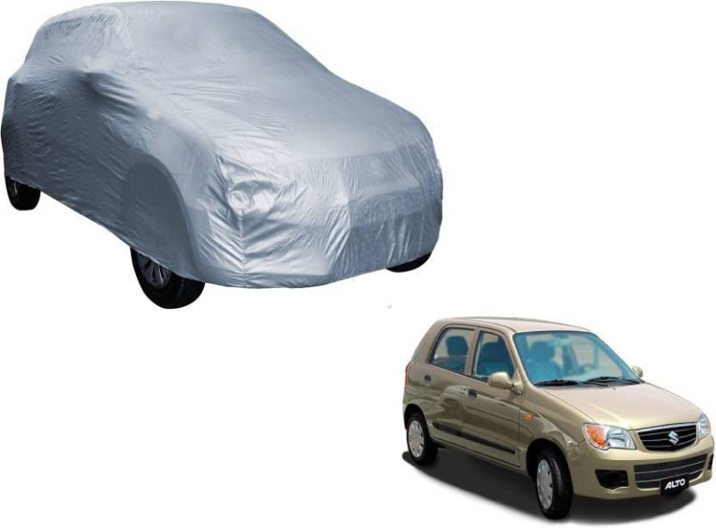 A K Traders Car Cover For Maruti Suzuki Alto (Without Mirror Pockets)(Grey)