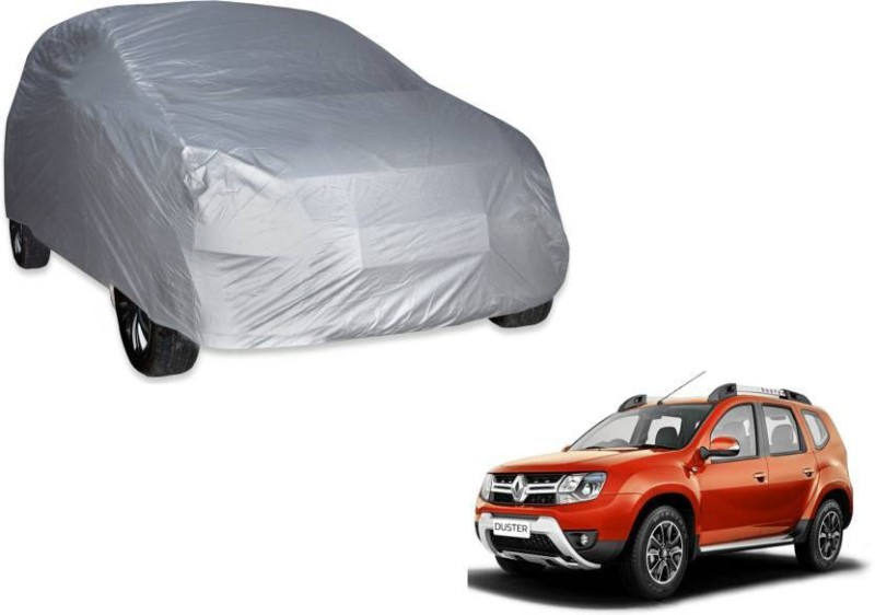 A K Traders Car Cover For Renault Duster (Without Mirror Pockets)(Grey)