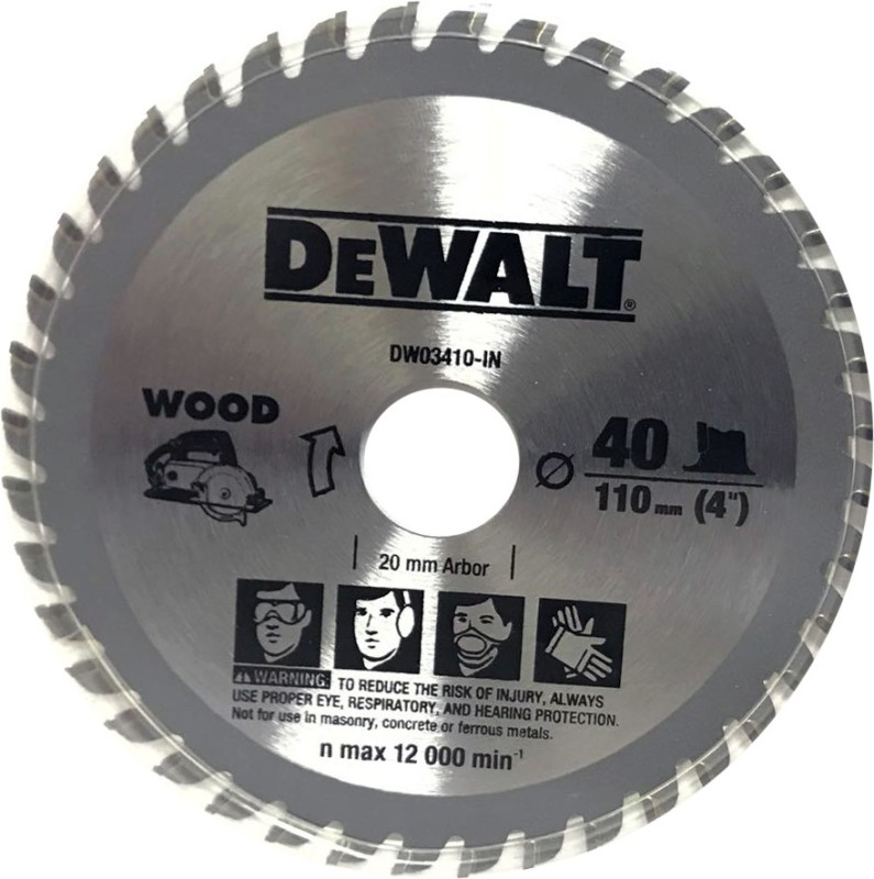Dewalt 4 inch TCT Blade for Wood Cuting - 40T Wood Cutter