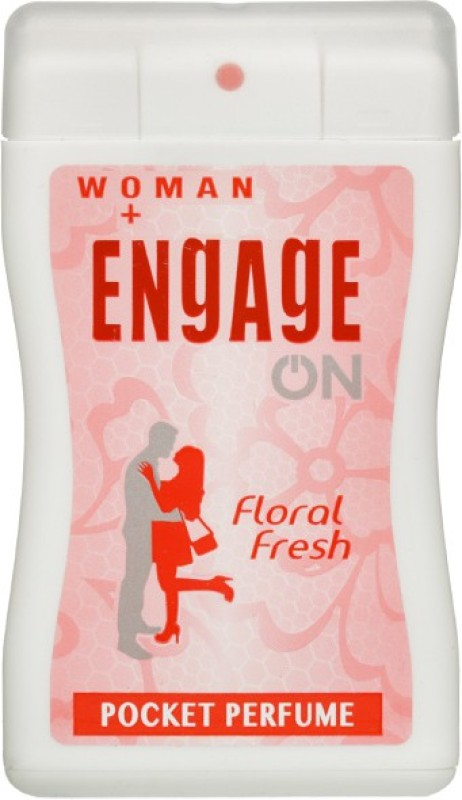 Engage On Floral Fresh Perfume Body Spray - For Women(18 ml)