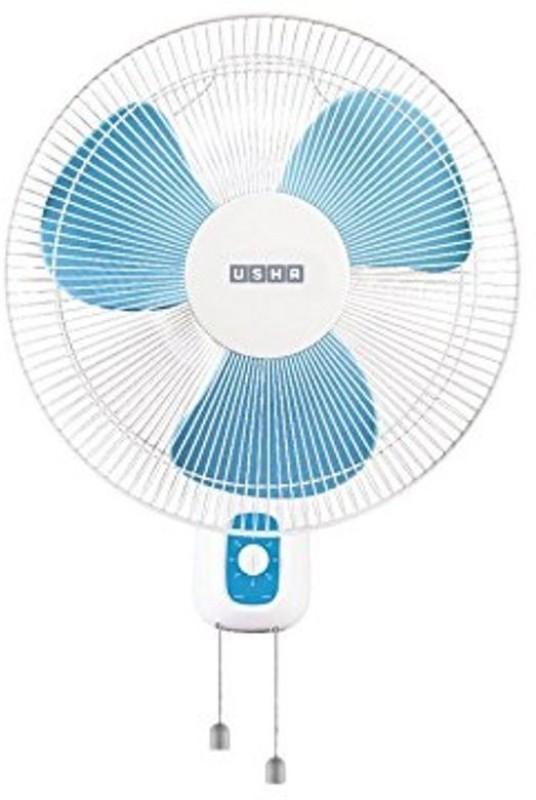 Usha 400mm Wall Fan 3 Blade Wall Fan(White)