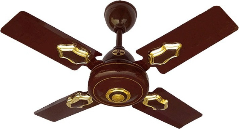 minmax 600MM Classic Hi-Speed 600 mm 4 Blade Ceiling Fan(BROWN, Pack of 1)