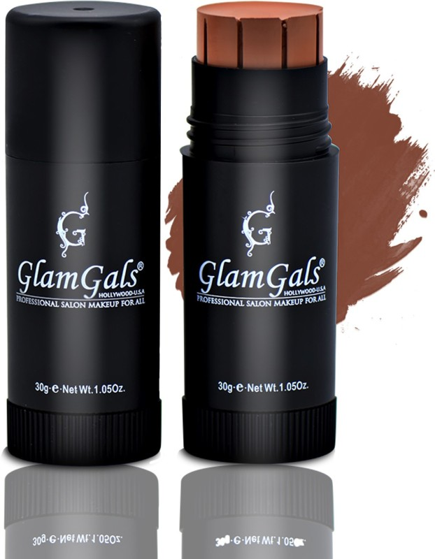GlamGals Stick Foundation is a Natural Blend & holistic product that works like a foundation, a concealer, a compact and a sun screen. Foundation(Sandy Brown, 30 g)