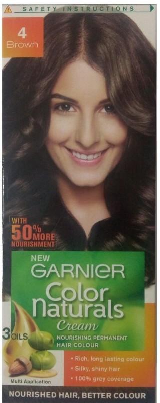 Garnier Color Naturals Hair Color(Brown 4)