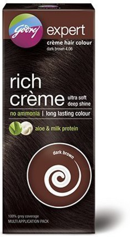 Godrej Expert Rich Creme Hair Color(Dark Brown 4.06)