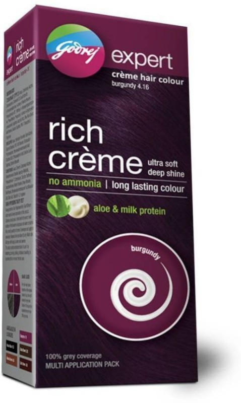 Godrej Expert Rich Creme Hair Color(Burgundy 4.16)